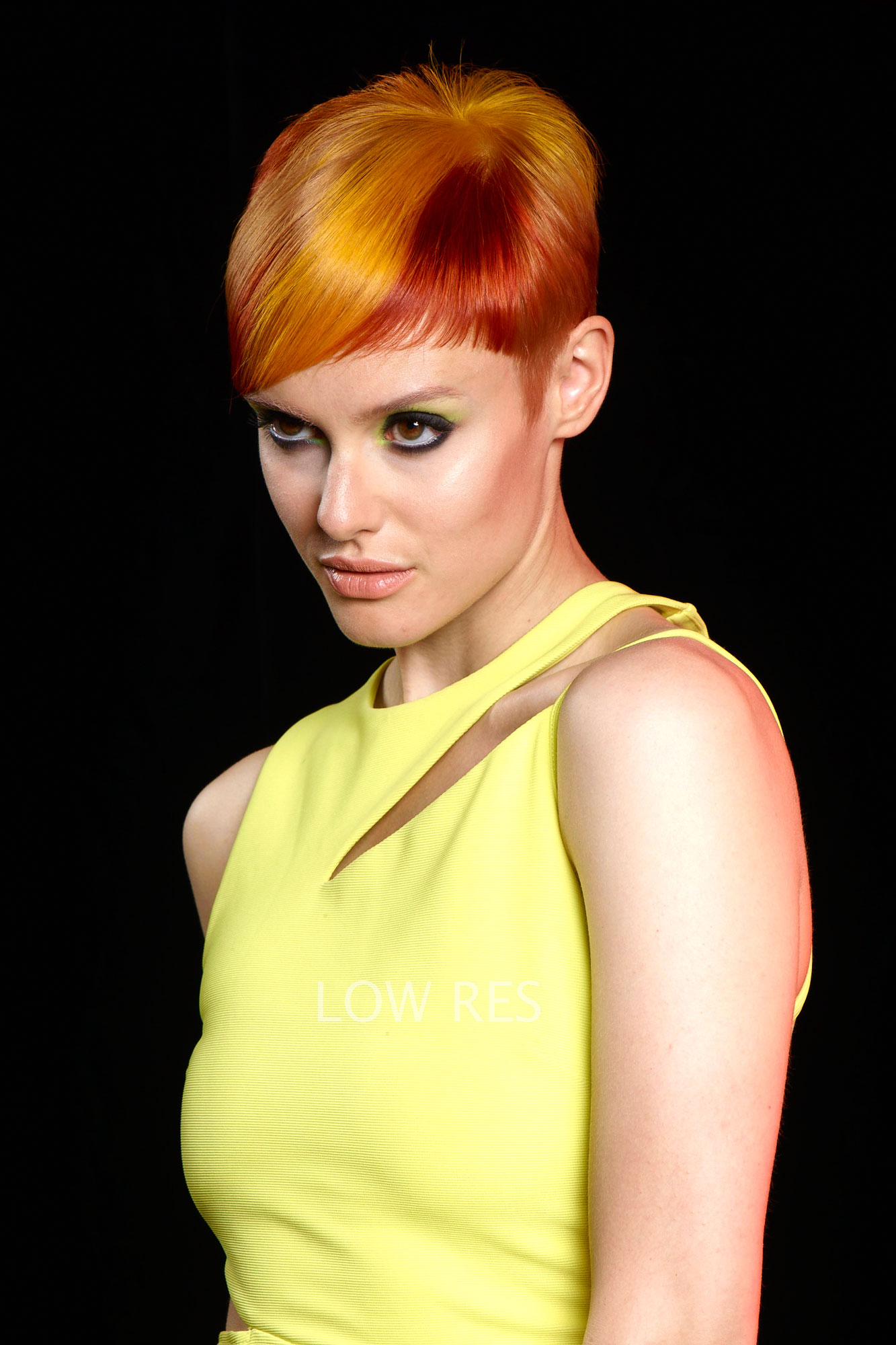 Color How-To: Neon/Nude Contrast