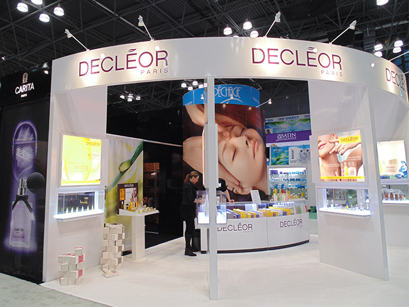 Decleor Custom Tradeshow Booth