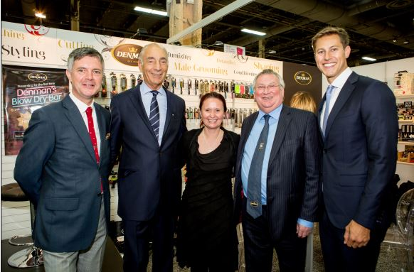 Pictured left to right: Philip Steele, Managing Director, Denman International, Gary Udell, Co-Principal, Gerry Udell Inc., Victoria Fishman, CEO, Denman Inc., John Rainey, Chairman, Denroy Group, Gerry Udell, Gerry Udell Inc.