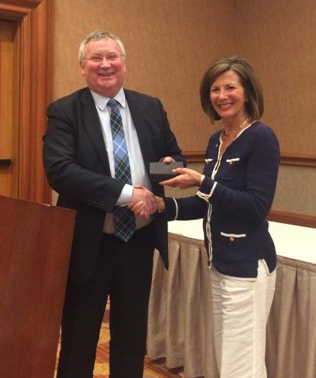 Denman Awards Sales Representatives and Customers with Commemorative Medal
