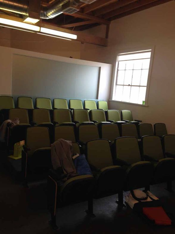 ACADEMY: Theatre seating