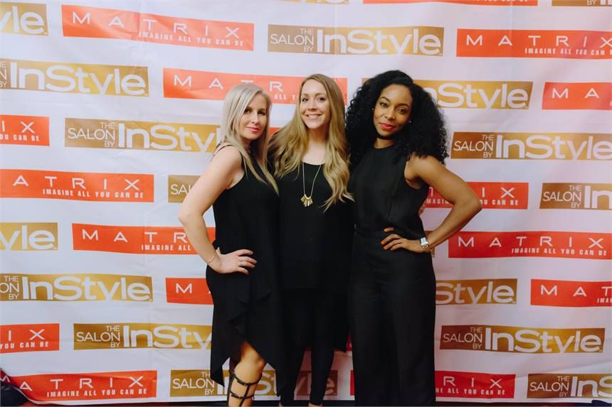 MODERN's Alison Alhamed (center) with Dilek Onur-Taylor and Michelle O'Connor.