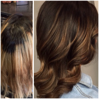 TRANSFORMATION: Toned Down Blonde