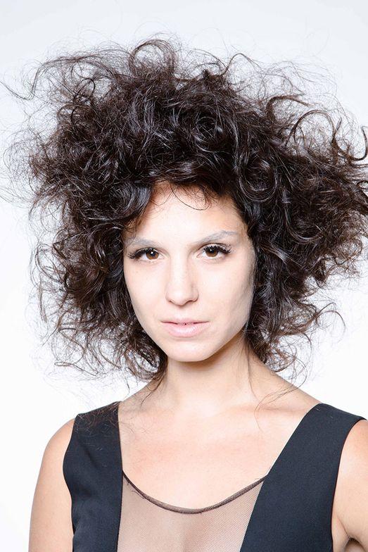 Sebastian Professional's Eruptek blowout/curls.