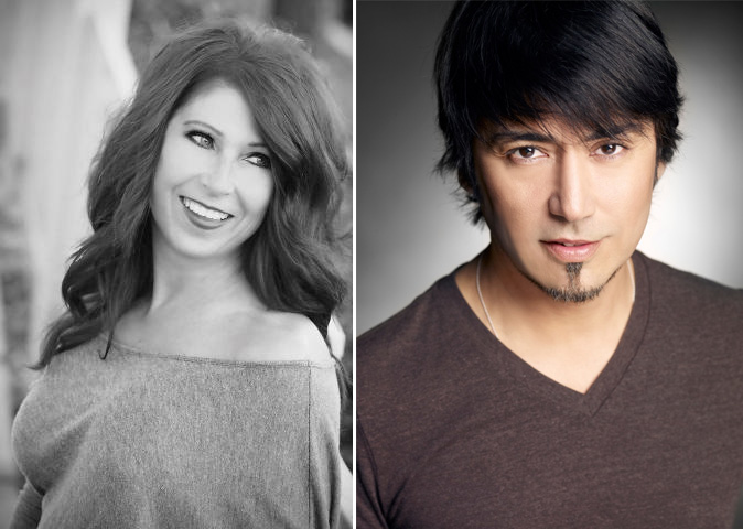 (Left to right) Joanne Magan, Philip Carreon