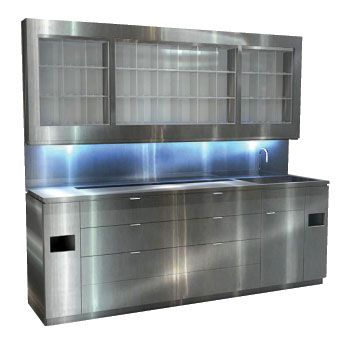 Stainless Steel Color Lab from Eurisko