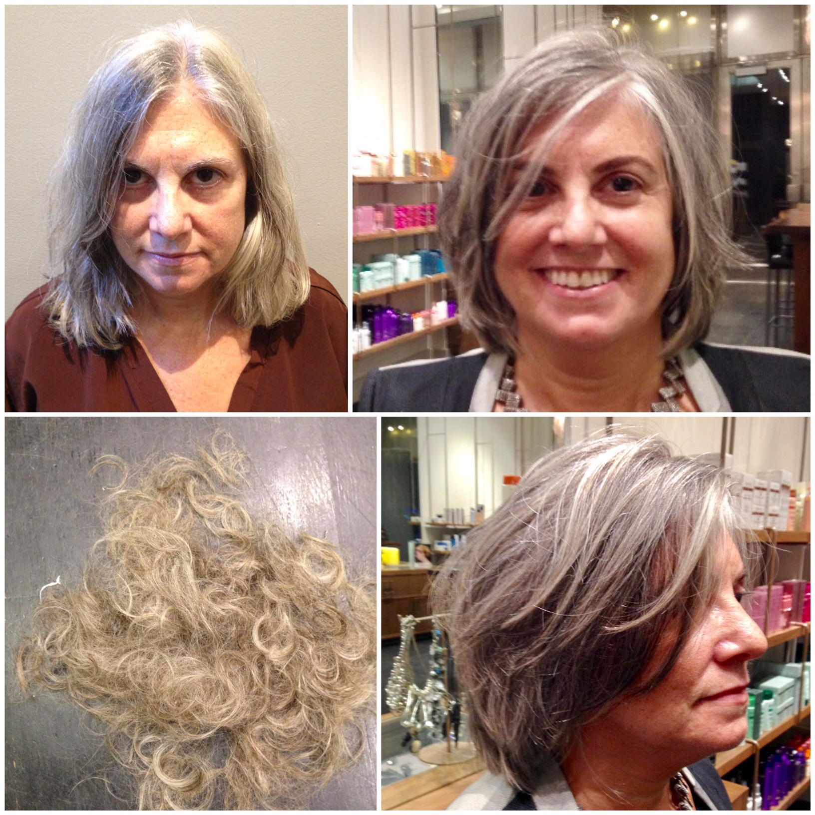 MAKEOVER: Gentle Cut and Balayage For The Mature Client