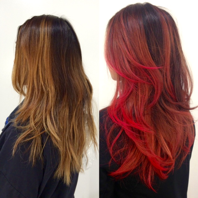 FORMULA: Poppin' Red Sombre