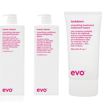 Evo Smooth: Tames Frizz and Strengthens Color-Treated Hair
