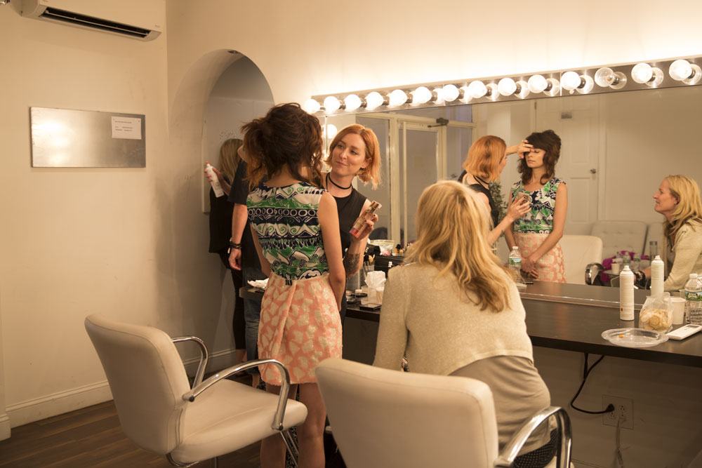First Time at Fashion Week: The Evo Study Tour Team Describes the Backstage Experience