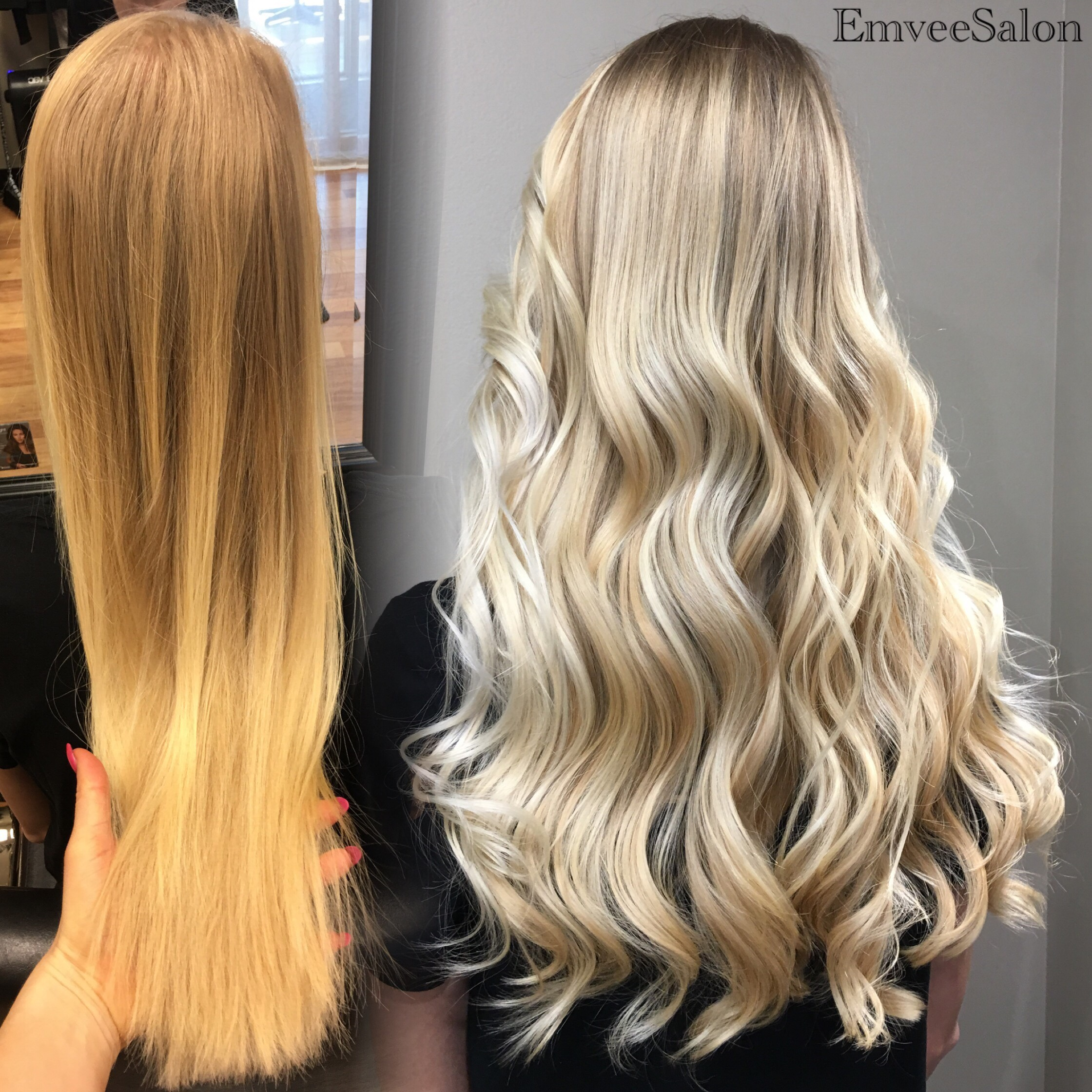 Balayage For Low Maintenance Dimensional Blonde