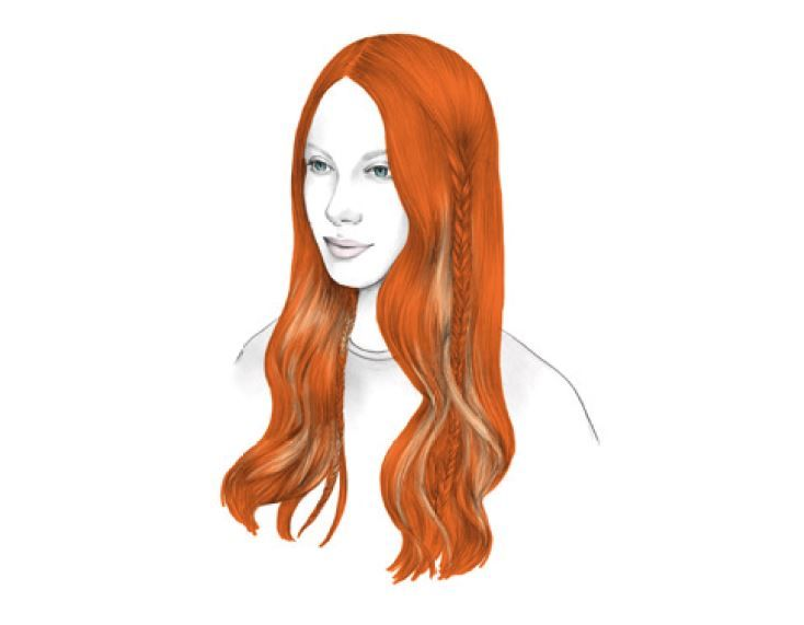 <strong>COLOR</strong> - <strong>STEP 1:</strong> Apply Formula B on the mid-lengths and ends and Formula C at the root. Process and treat with Color Vibrancy Shampoo and Post-Color Treatment.