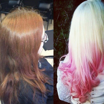 TRANSFORMATION: Fairy Tale Blonde and Pink Color Melt