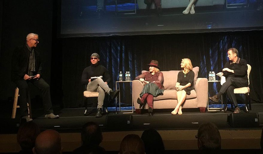 """The panel featured <strong>David Wagner</strong> of <a href=""""https://www.juut.com/"""" target=""""_blank"""" rel=""""noopener""""><strong>Juut Salons</strong></a>; <strong>Eveline Charles</strong> of <a href=""""https://www.evelinecharles.com/"""" target=""""_blank"""" rel=""""noopener""""><strong>Eveline Charles Salons/Spas</strong></a>; <strong>Debra Penzone</strong> of <a href=""""http://www.charlespenzone.com/"""" target=""""_blank"""" rel=""""noopener""""><strong>The Charles Penzone Salons</strong></a>; and <strong>Van Council</strong> of <a href=""""http://www.vanmichael.com/"""" target=""""_blank"""" rel=""""noopener""""><strong>Van Michael Salons</strong></a>, and was moderated by <strong>Scott Buchanan</strong> of <a href=""""http://scottj.com/"""" target=""""_blank"""" rel=""""noopener""""><strong>Scott J. Aveda Sal"""
