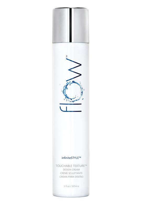 Flow Infinite Style Touchable Texture Design Cream provides long lasting, pliable hold for textured styles. This easy to use cream locks style in place with a flexible hold that feels dry and soft to the touch. For all hair types.