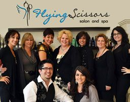 Staff of Flying Scissors Salon in Clermont, Florida