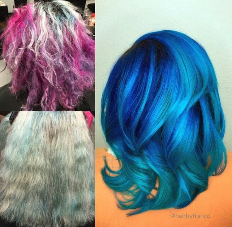 Makeover: Challenged To Dimensional Blue