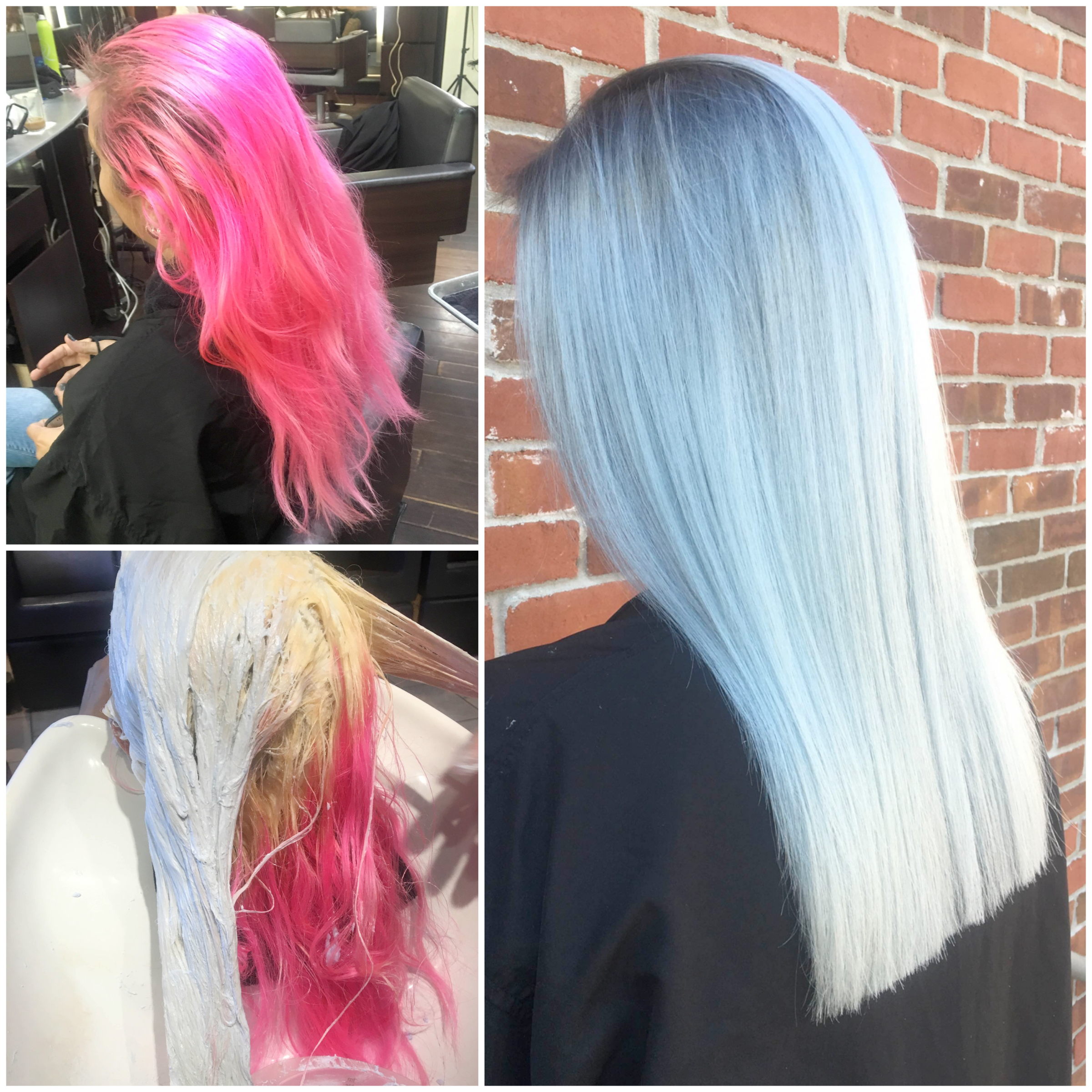 Makeover: Hot Pink To Ocean Storm