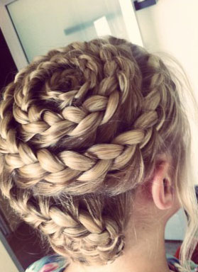That's a Wrap: French Braid Swirl Technique