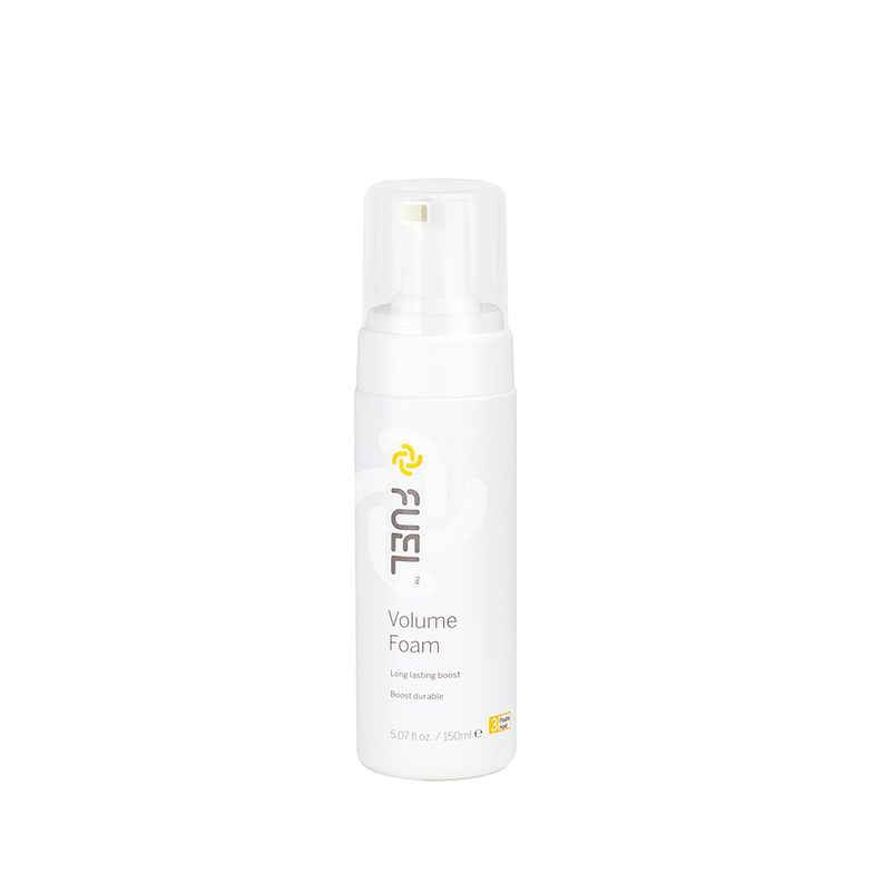 Fuel Volume Foam: When you reach for a non-aerosol volume foam, it needs to deliver really big lift especially at the roots, and this product does just that. Create amazing lift and texture with this volume foam's dual action abilities that help tame hair, while providing grip and touchable support essential for long lasting fullness. By soothing and maintaining a healthy scalp, your guest won't complain about dryness or build-up either. For more information, visit www.fuelhair.com.