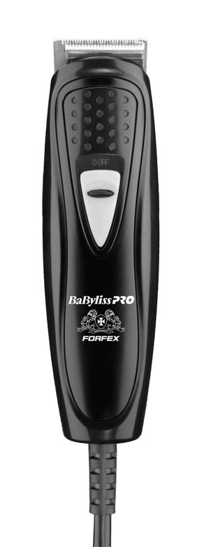 """<div class=""""page"""" title=""""Page 1""""> <div class=""""section""""> <div class=""""layoutArea""""> <div class=""""column""""> <p>Carlos Estrella's favorite tool to create hair designs, the BaBylissPro FX49 T-blade Trimmer.</p> </div> </div> </div> </div>"""