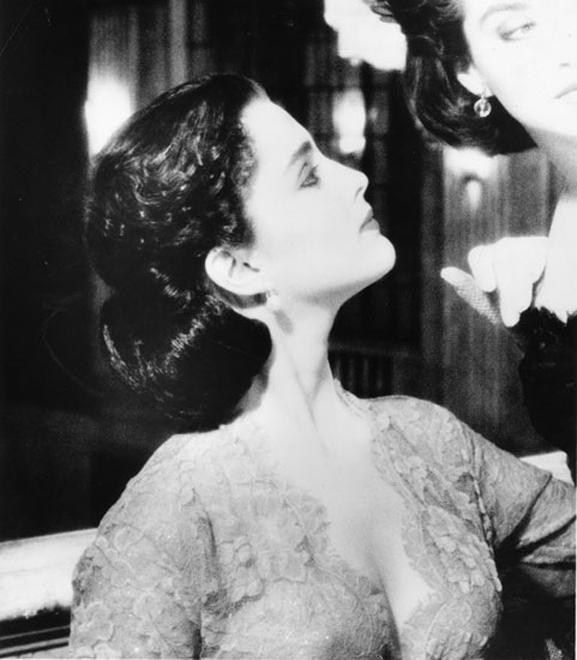 """Frankly, My Dear …""  Alayne as Scarlett O'Hara.  Hair: Kim Lepine. La  Coupe. Photo: Geoffrey Hargrave Thomas. Produced by #HelenOppenheim"
