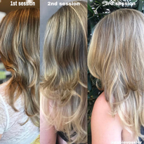 Explaining Foilyage, Teasylights, Shadow Root and Other Hair Color Techniques to a Salon Client