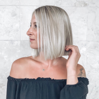 From Grown-Out Roots to Even, Cool Blonde with Dimension