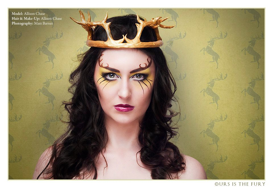 Game of Thrones Inspired-Makeup by Allison Chase