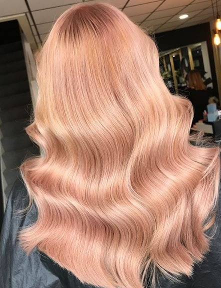 Doesn't this color make you feel just peachy?