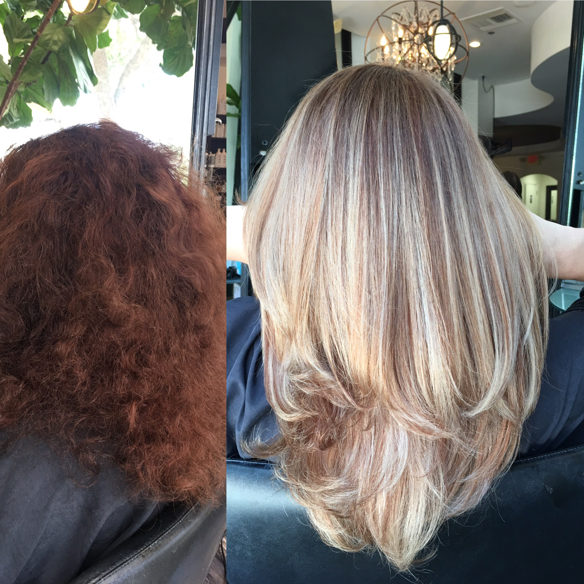 MAKEOVER: Faded Red to Dimensional Bombshell