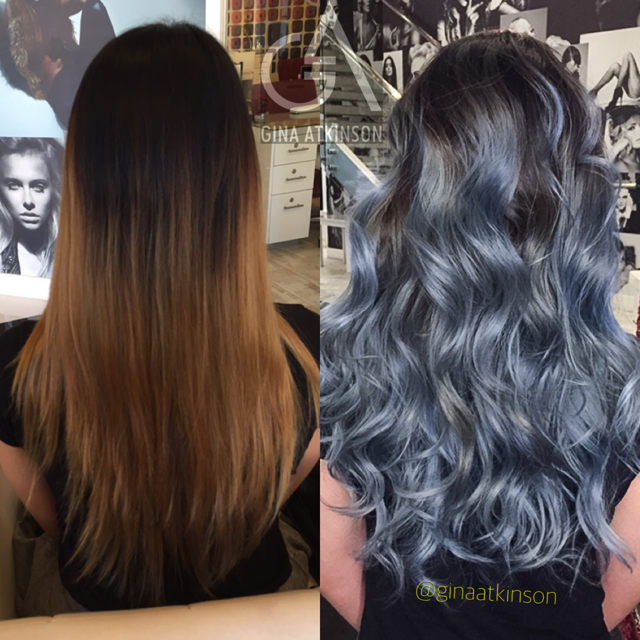 TRANSFORMATION: Faded To Silver/Blue Melt