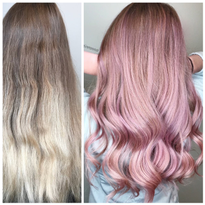 MAKEOVER: Faded Balayage To Pink Melt