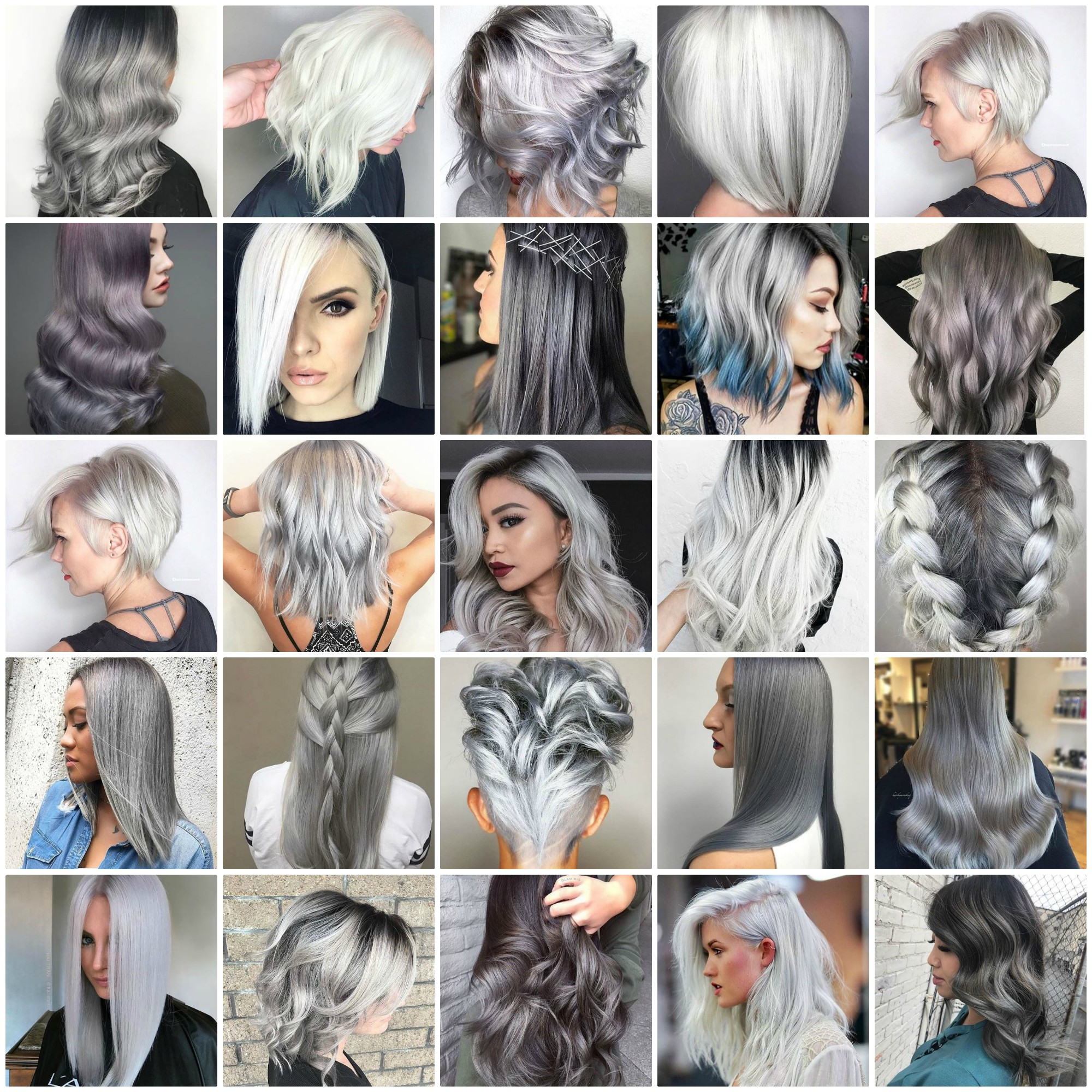 These 25 Silver and Platinum Looks Will Have You on Cloud Nine