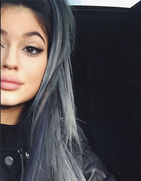 Get the Color: Kylie Jenner's Silver Ombre
