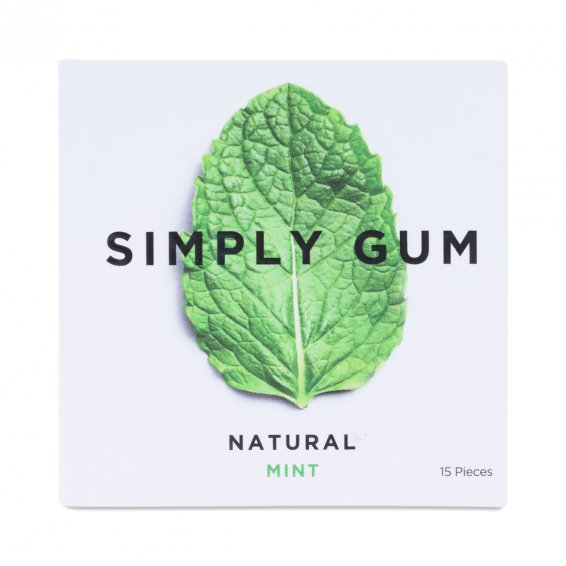 <strong>Diet Aid:</strong> Your clients love you so they bring you sugar. And carbs. And things that pull out your fillings. Delicious, yes, but good for you, not so much. Pop a piece of gum to keep temptation at bay. Simply Gum Mint flavor is handcrafted from premium, all-natural ingredients and is vegan and gluten-free.