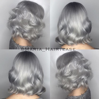 Shining Silver-Steel Haircolor