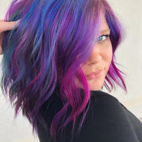 You Have to See This Mermaid Hair Color Created with L'anza VIBES