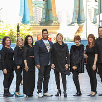 Meet the Hair & Co BKLYN team, which Shannon and Allyson King (centered) built by creating a...