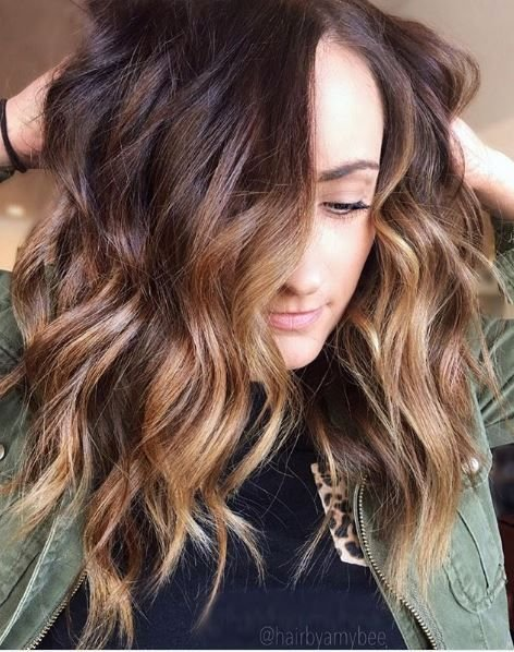How fun is this hair! We love the volume and the way each strand is beautifully painted.