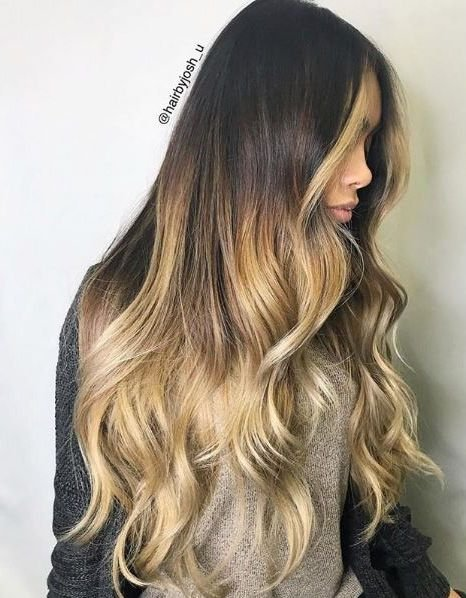 Golden waves all day in this style by @hairbyjosh_u.