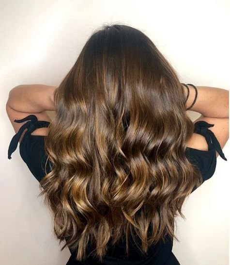 Who needs a golden hour when your hair is the perfect golden brunette every hour of the day?!