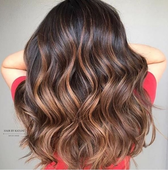We love the blend in this stunning mocha melt.