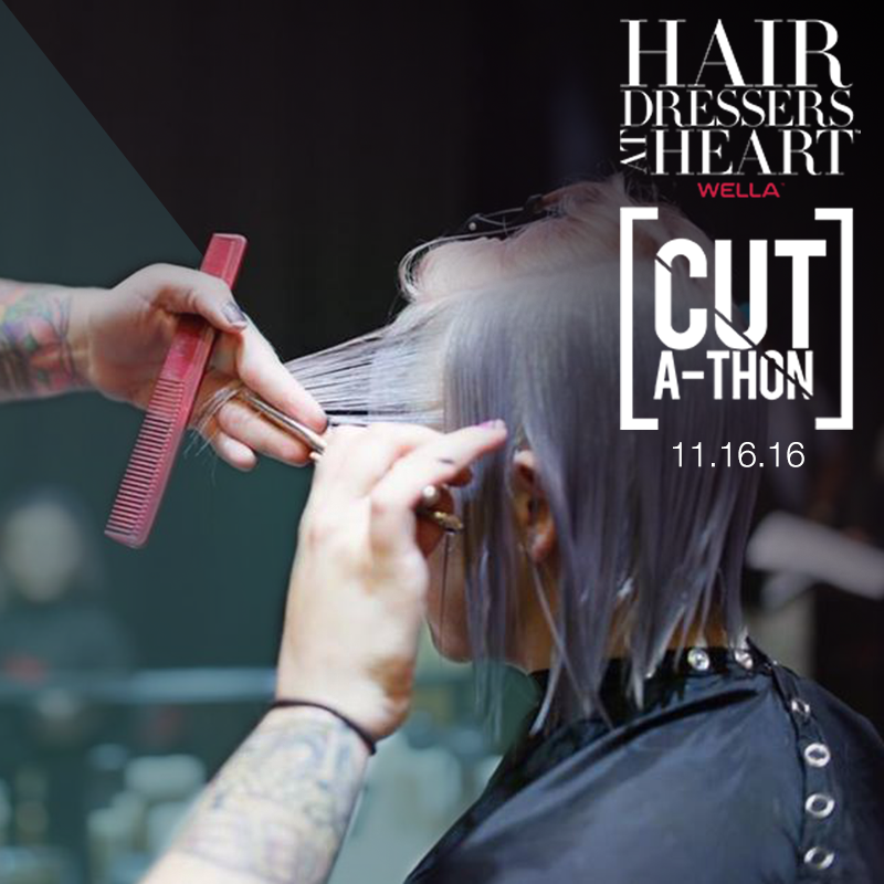 Join Wella and OPI for Hairdressers at Heart Cut-A-Thon Benefitting Homeless Youth