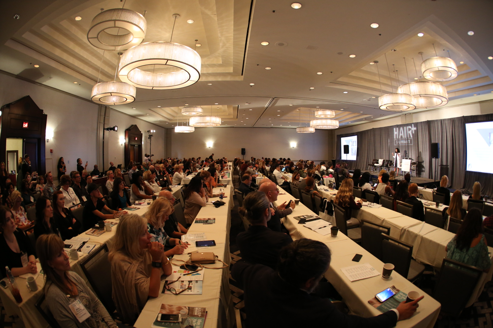 This year's event focused on providing more advanced education to help participants move forward as hair loss consultants and to become strong in all areas—technical, business and medical.