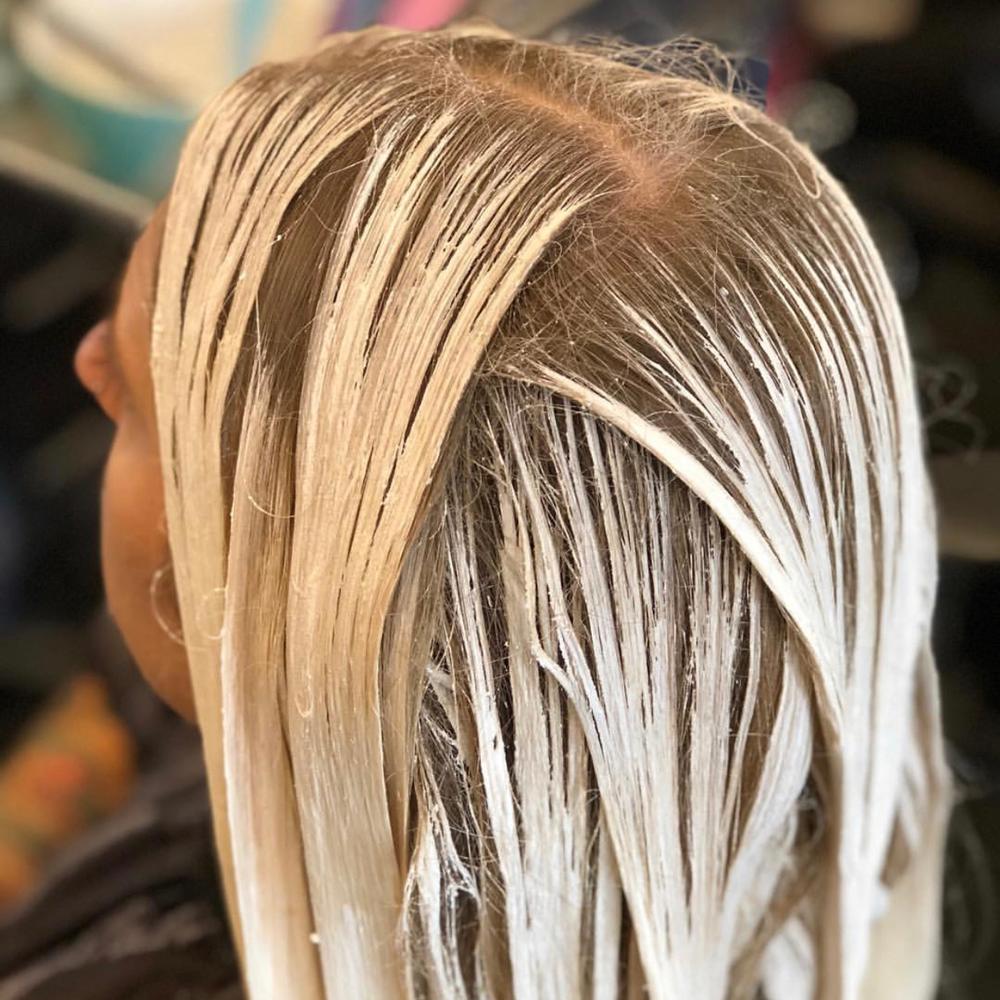 Nikki Parsons, @hairsoakedinbleach, Best Process Pic