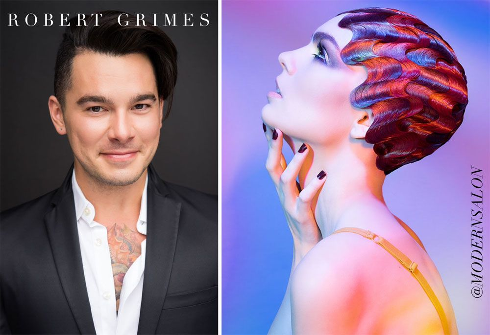 Hairstylist of the Year, Robert Grimes