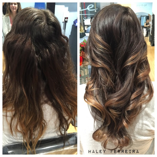HOW TO: Chocolate Caramel Sombre