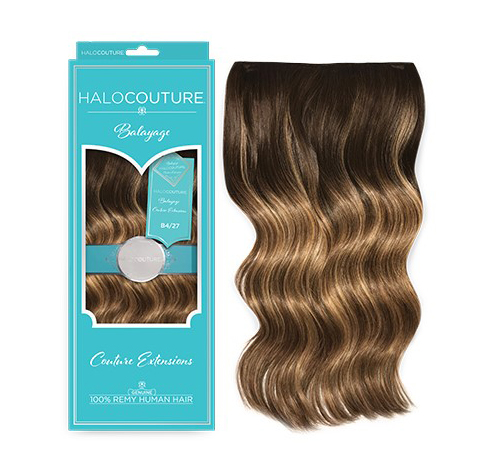 Balayage Halo and Tape-In Extensions from HALOCOUTURE