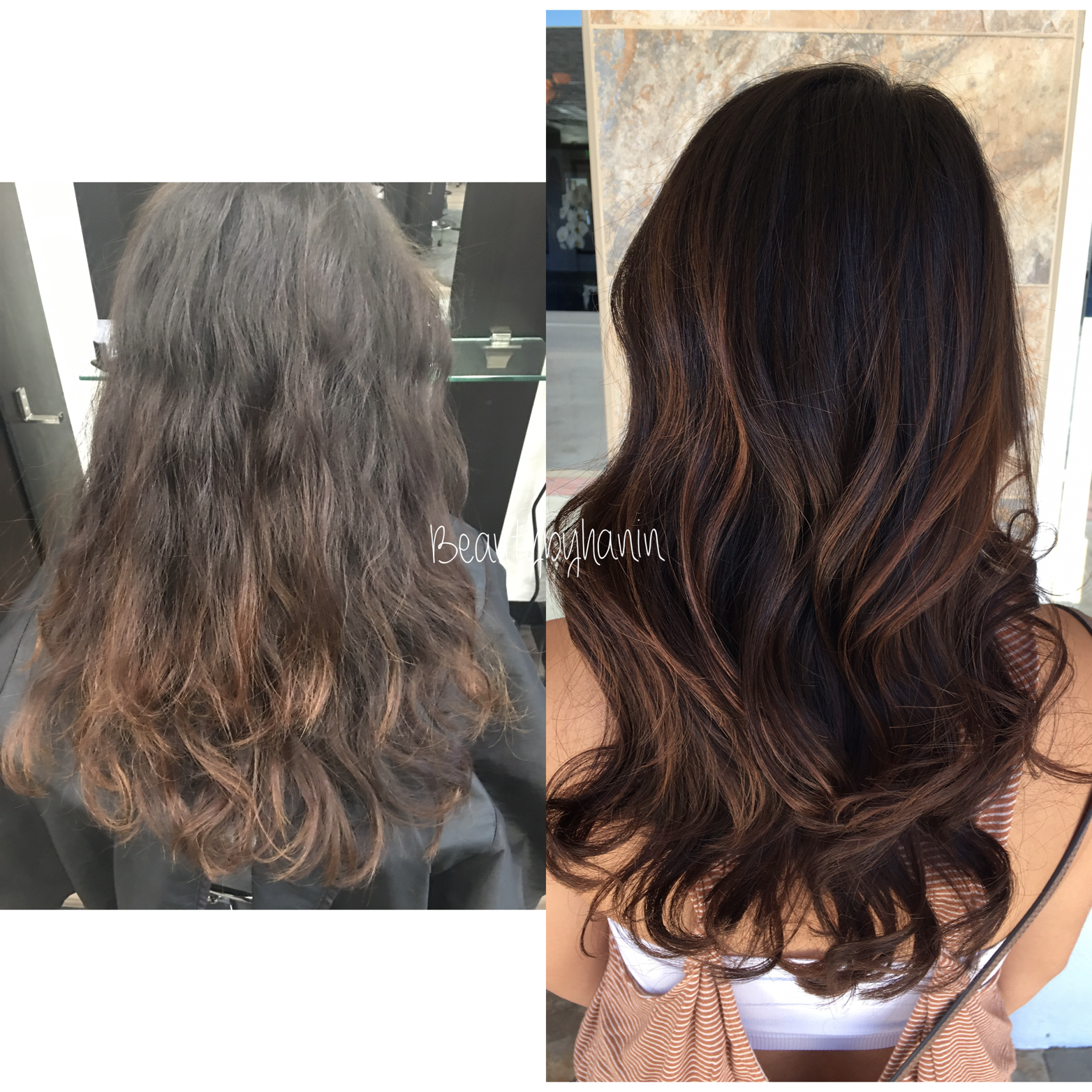Balayage and Toning For Sophisticated Beauty